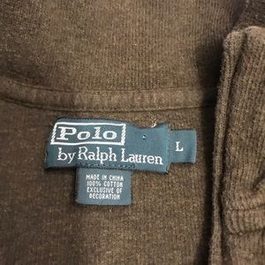 Polo by Ralph Lauren Sweaters - POLO RALPH LAUREN HALF ZIP SWEATER